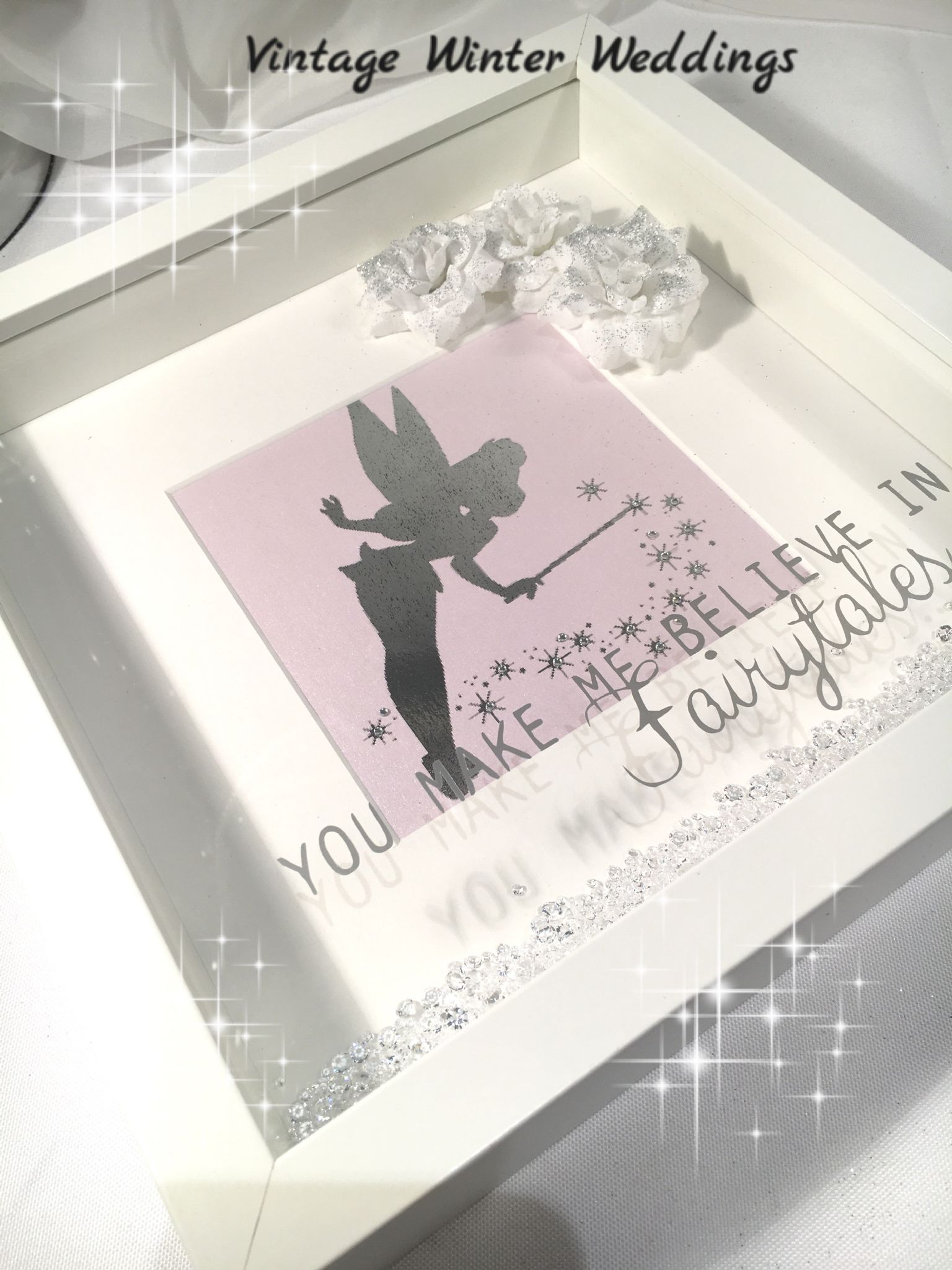 Fairytale keepsake frame